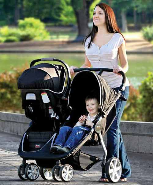 Britax B Agile Double Stroller Review Baby Chattel